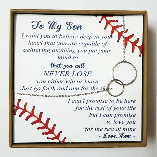Baseball Mom site 542x542 - To My Son - Baseball Mom - BSM01