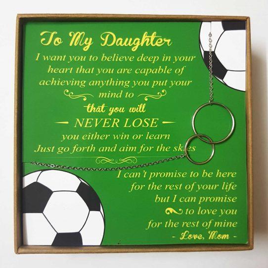 Soccer Mom Site 542x542 - To My Daughter - Soccer Mom - SCM01
