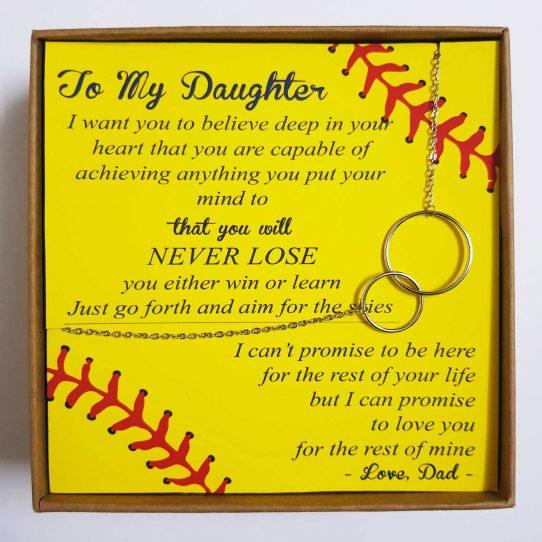 Softball Dad Site 542x542 - To My Daughter - Softball Dad- SD01