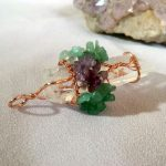 Tree of Life Pendant Amethyst Rose Crystal Necklace Gemstone Chakra Jewelry - TOL01 photo review