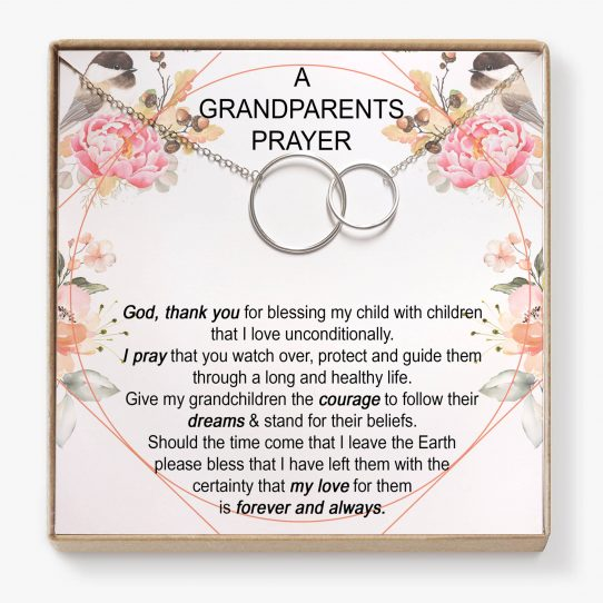 AGP01 Site 542x542 - A Grandparents Prayer, Grandma Necklace • Granddaughter gift