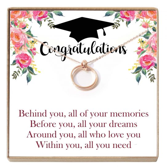 GRAD01 Mockup Site 542x542 - Graduation Gifts For Daughter Necklace - Best gift for her on graduation, motivational necklace, new grad jewelry gift, graduation congrats - GRAD01