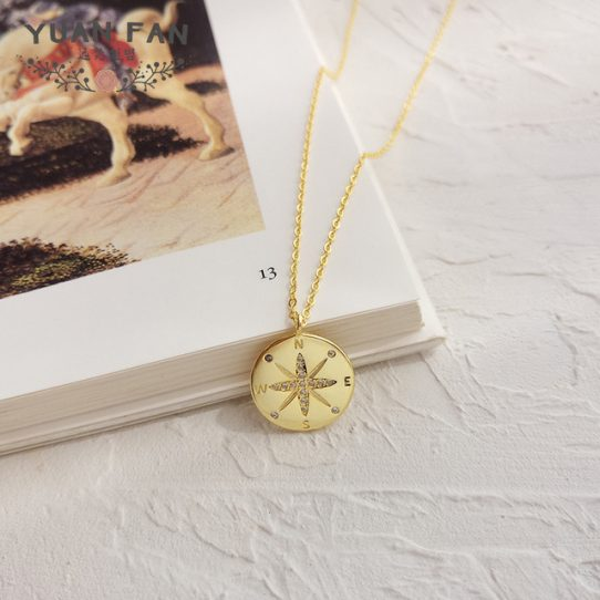 9659921692 259423686.640x640 542x542 - 30th Birthday Compass Necklace - Perfect gift for your best friend, sister, niece, cousin, and more on her 30th birthday, Compass - 30TH-01