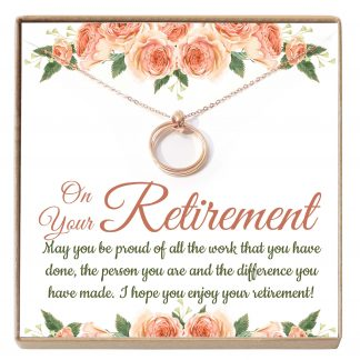 RTM01 Site 324x324 - Retirement Gifts for Women, Leave Job Gift, Teacher Retirement Gift, Goodbye Gift, Jewelry from Co-worker- RTM01