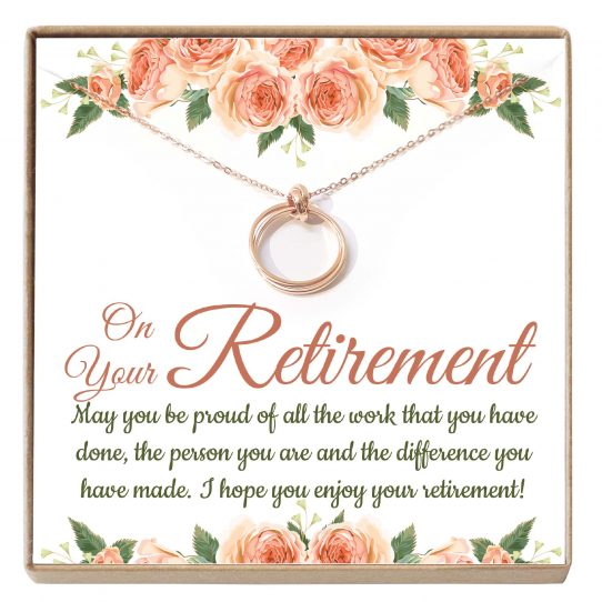 RTM01 Site 542x542 - Retirement Gifts for Women, Leave Job Gift, Teacher Retirement Gift, Goodbye Gift, Jewelry from Co-worker- RTM01