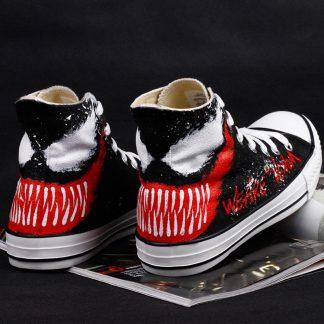 1 1 324x324 - Venom canvas shoes, men and women graffiti hand-painted shoes - S-VN01