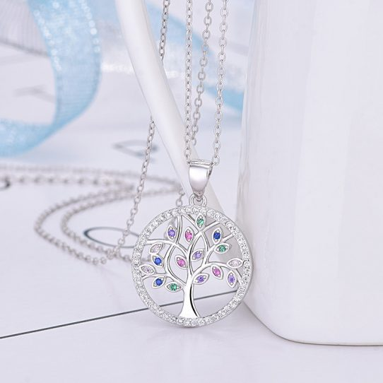 10968120069 1542584397 542x542 - Christmas Gift for Daughter: Present, Necklace, Jewelry, Xmas Gift, Holiday Gift, Gift Idea, Daughter Gift, Tree - DT06