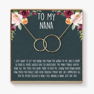 il fullxfull.1561866296 950s 324x324 - Nana Necklace: Nana Gift, Nana Necklace, Nana Jewelry, Mother's Day Gift for Grandma, Mother's Day Jewelry, Grandma, 2 Interlocking Circles - NA01