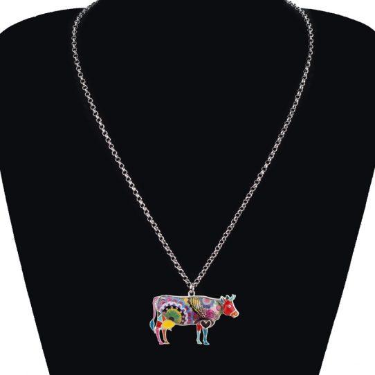 HTB15PT.ahUaBuNjt iGq6xlkFXa3 1 542x542 - Cow Necklace - Farm Animal Necklace - Cow Lover Gift - Farmer Necklace - Animal Necklace - Cowgirl Necklace